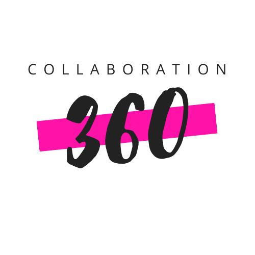 Collaboration 360 black pink logo